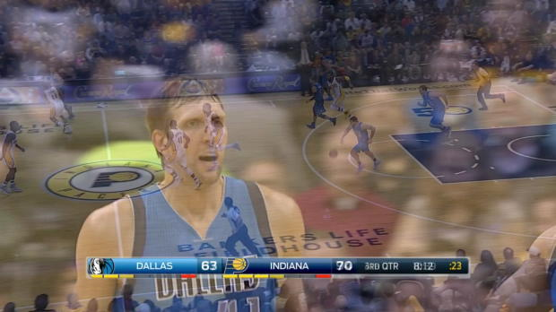 WSC: Highlights: Dirk Nowitzki (22 points) vs. the Pacers, 10/26/2016
