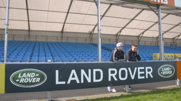 Aviva Premiership - Henry Slade and Jack Nowell in Land Rover?s Open Range Series