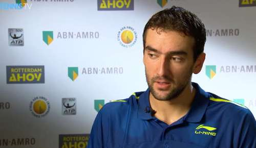 Cilic Interview: ATP Rotterdam 2R