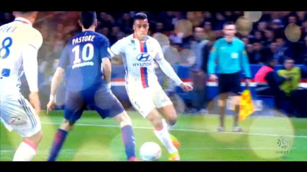 لقطة: الدوري الفرنسي: أهداف ليون-- في شهر مارس