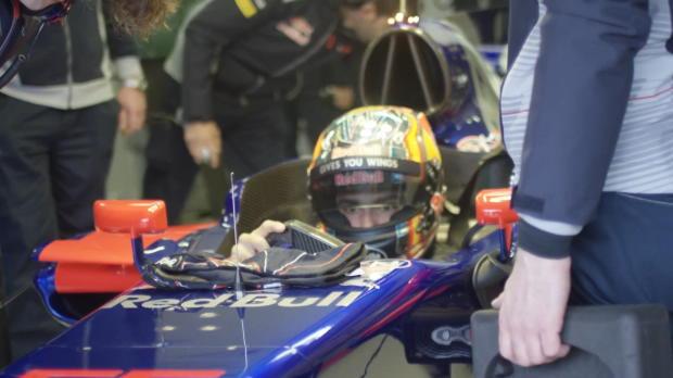 Así luce el nuevo Toro Rosso de Carlos Sainz Jr