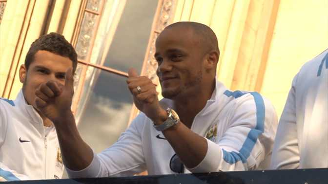 Man City : Kompany prolonge, Garcia s'en va