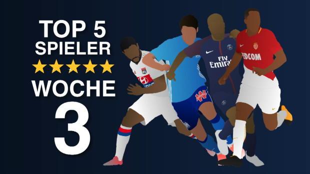 Top-5-Spieler der dritten Woche