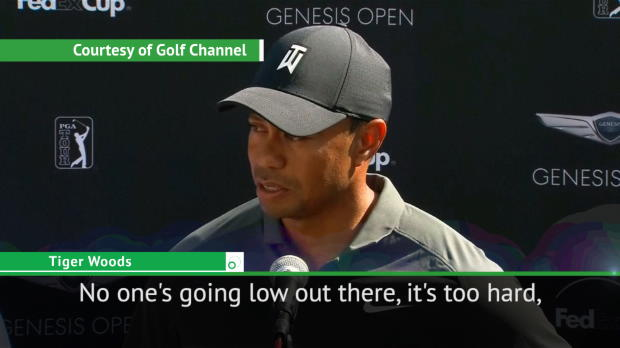 Genesis Open course is 'too hard' - Tiger