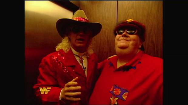 Jeff Jarrett invades Buddy Lee Attractions: Raw, Nov. 29, 1993