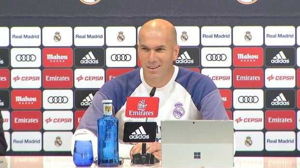 """Zidane vor Clasico: """"Wir sind bereit!"""""""