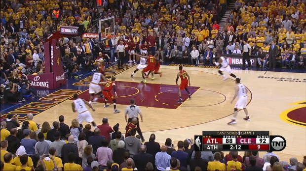 And-1 of the Night: LeBron James