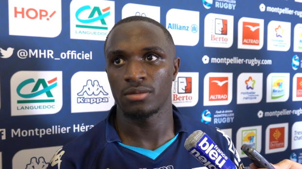 "Rugby : Top 14 - 5e j. : Ngandebe : ""Continuer sur cette lancée"""