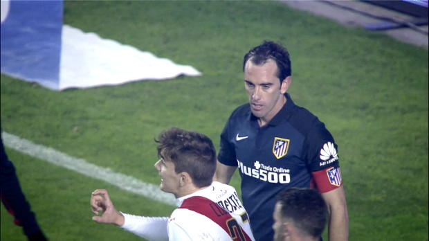 Best action from Diego Godin 2016