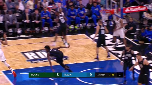 WSC: Giannis Antetokounmpo (25 points) Highlights vs. Orlando Magic