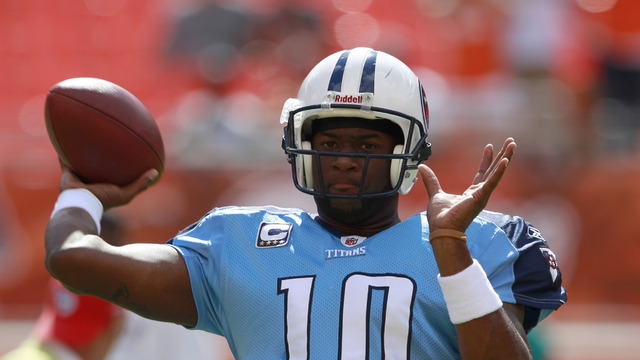 Can Vince Young resurrect his football career in the CFL?