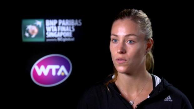 تنس: البطولة الختاميّة: كيربر واثقة بقدراتها عقب خطفها انتصارين تواليا