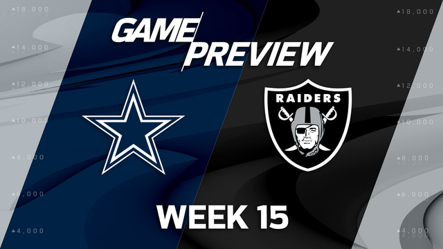 Cowboys vs. Raiders preview | 'Move the Sticks'