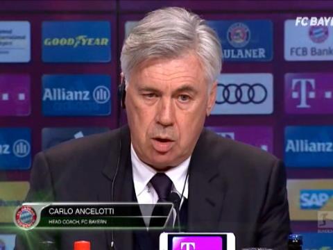 كرة قدم: الدوري الألماني: الحظ والنجاعة ساهما في فوز بايرن العريض وفق أنشيلوتي
