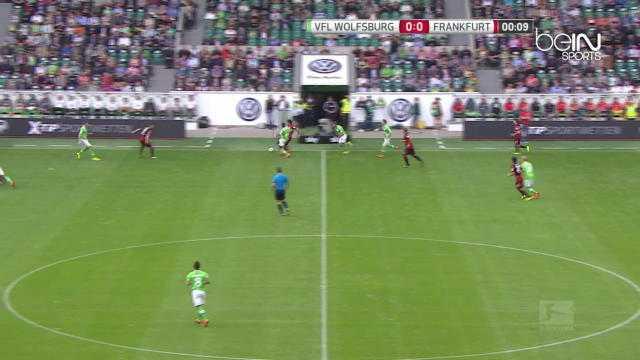 Bundes : Wolfsburg 2-2 Francfort