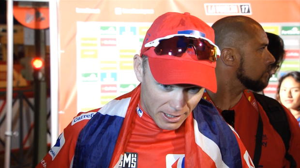 """Vuelta: Froome: """"Toursieg ist unglaublich"""""""
