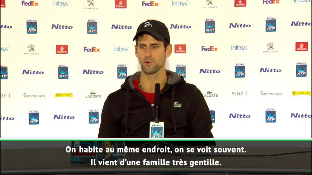 : Masters - Djokovic - 'Zverev l'a bien mérité'