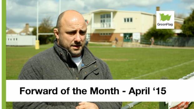 Aviva Premiership - Green Flag At The Breakdown - Forward of the Month - April 2015