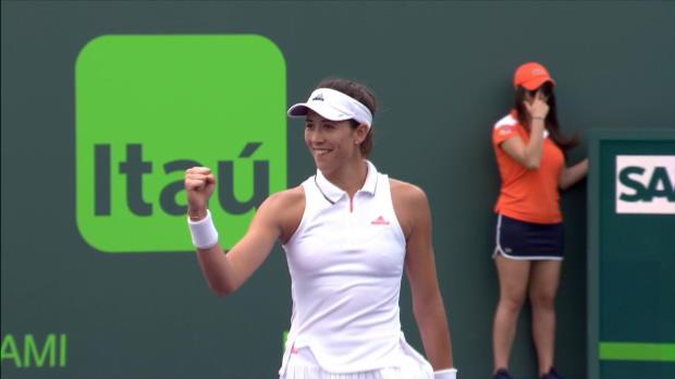 WTA - Miami - Muguruza en huitièmes