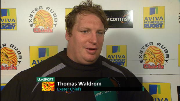 Aviva Premiership - Exeter Chiefs Post-Match Interviews