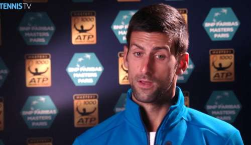 Djokovic Interview: ATP Paris 3R