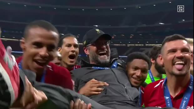 Klopp-Cam: So emotional feierte der Coach | UEFA Champions League Viral