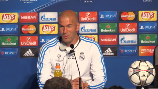 """Zidanes Final-Plan: """"Laufen, laufen, laufen!"""""""