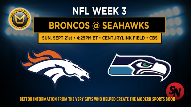Denver Broncos @ Seattle Seahawks