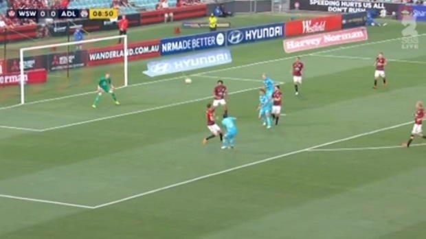 Wanderers v Adelaide highlights