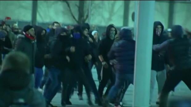 Unruhen in Bilbao: Spanischer Polizist tot