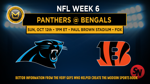 Carolina Panthers @ Cincinnati Bengals