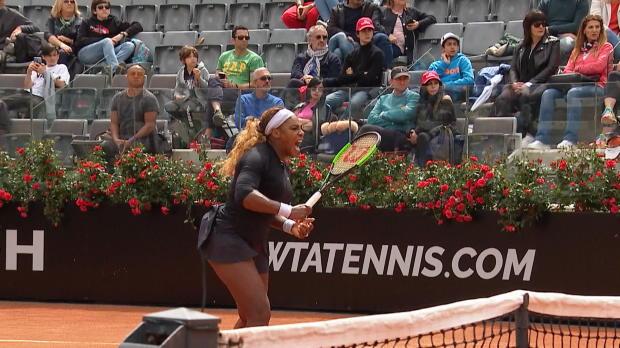 : Rome - Serena, retour gagnant
