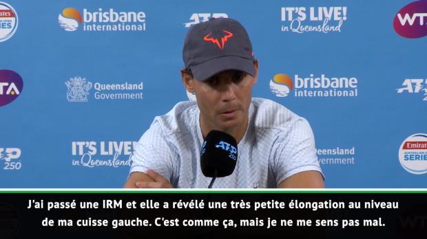 Basket : Brisbane - Nadal déclare forfait