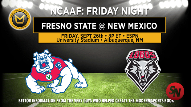 Fresno State Bulldogs @ New Mexico Lobos