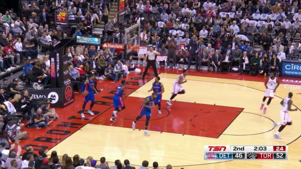 WSC: DeMar DeRozan scores 40 points in win over the Pistons
