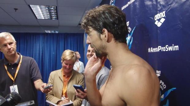 """Schwimmen: Phelps: """"Ich bin sehr frustriert"""""""