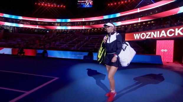 Peking: Kvitova bezwingt harmlose Wozniacki