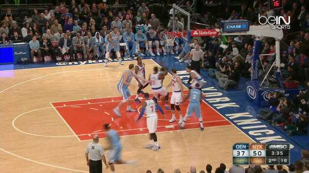 NBA : Nuggets 93-109 Knicks
