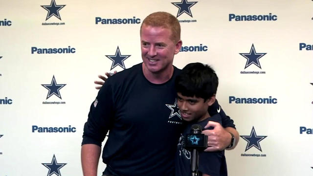 Spelling Bee co-champion meets the Cowboys