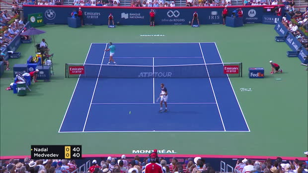 Basket : Montréal - Nadal intouchable en finale face à Medvedev