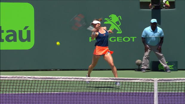 WTA - Miami - Konta écarte Halep