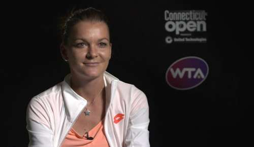 Radwanska Interview: WTA New Haven SF