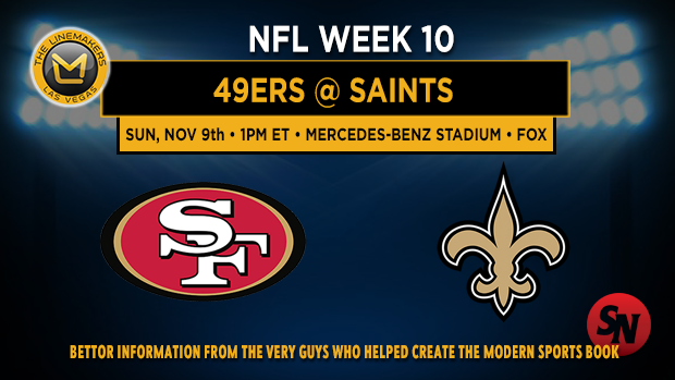 San Francisco 49ers @ New Orleans Saints