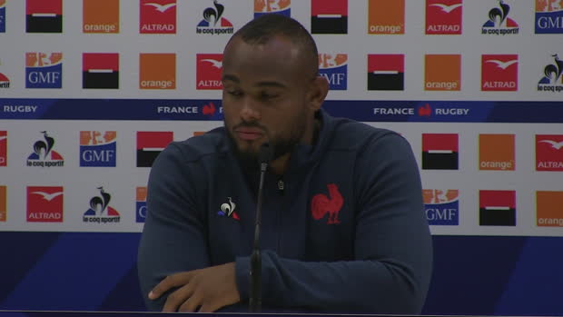 "Rugby : XV de France - Poirot - ""L'engagement m'a beaucoup plu"""