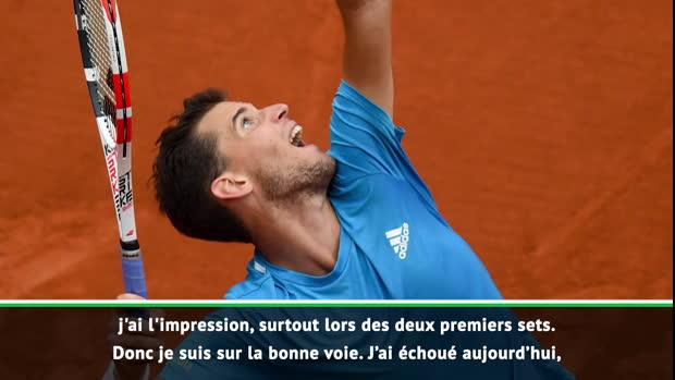 """Tennis : Roland-Garros - Thiem - """"Mon rêve est toujours de remporter Roland-Garros"""""""