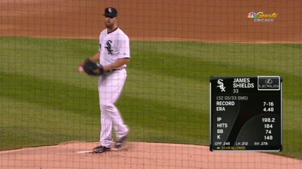 CG: CLE@CWS - 9/25/18