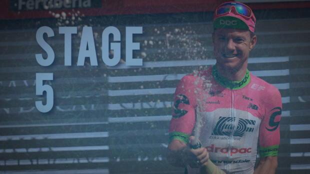 Vuelta: Ausreißer-Sieg und Führungswechsel