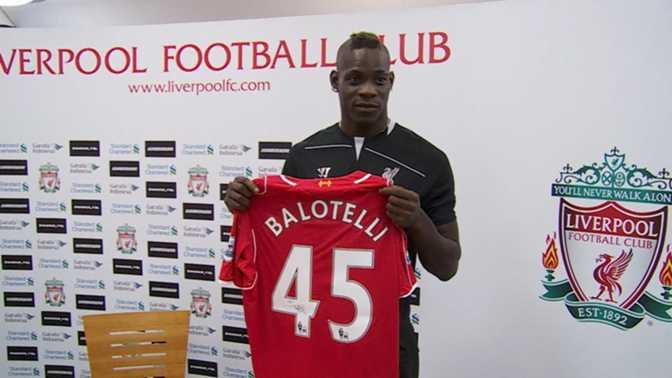 Liverpool : Balotelli nouveau joueur des Reds