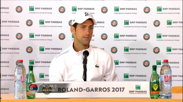 تنس: بطولة فرنسا المفتوحة: دجوكوفيتش يثمّن تواجد