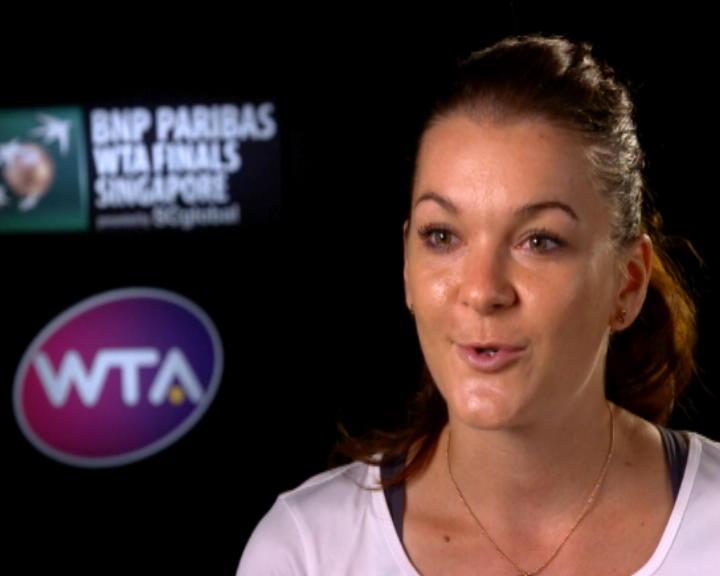 تنس: البطولة الختاميّة: رادفانسكا محبطة حيال إهدارها الفرص أمام كوزنتسوفا